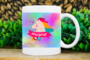Unicorn Magical Sublimated 11oz Coffee Mug
