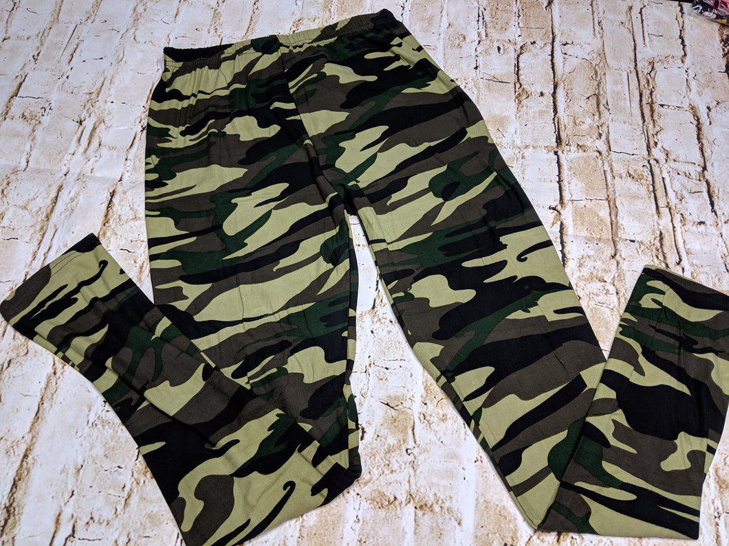 Camo Leggings TWO STYLES