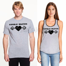 Load image into Gallery viewer, Bundle His Her Swole Mates Workout Tees