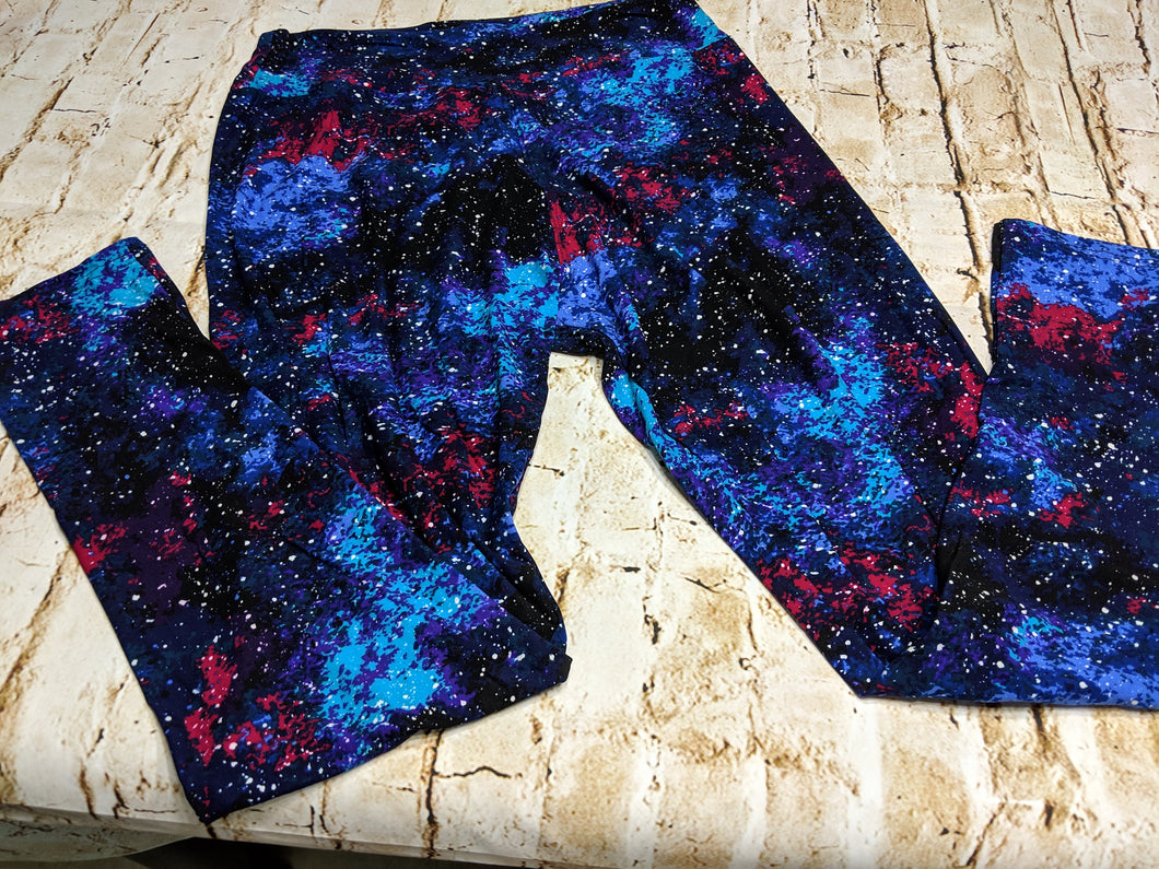 Galaxy Leggings One Size and Tall & Curvy