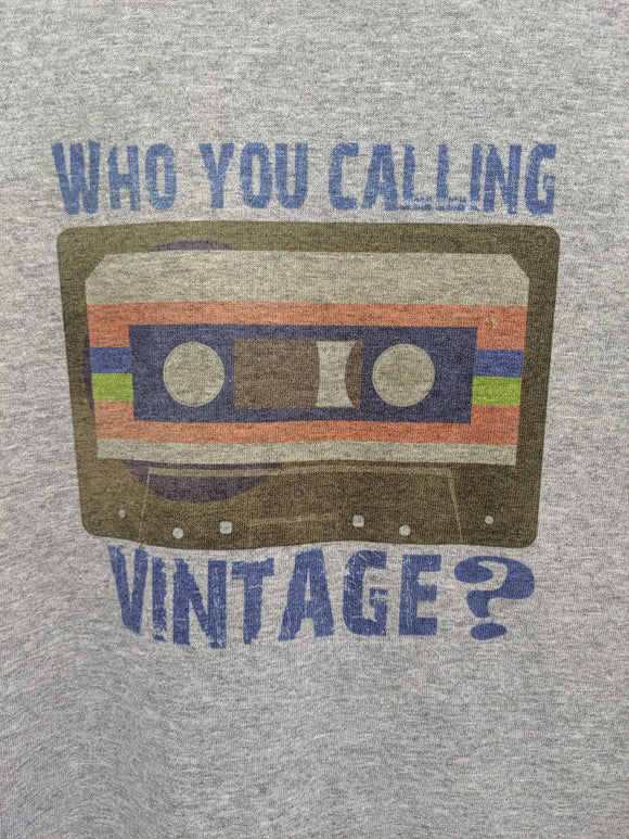 Who You Calling Vintage? Cassette Tape Unisex Tee