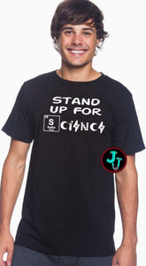 Stand Up For Science Unisex Tee