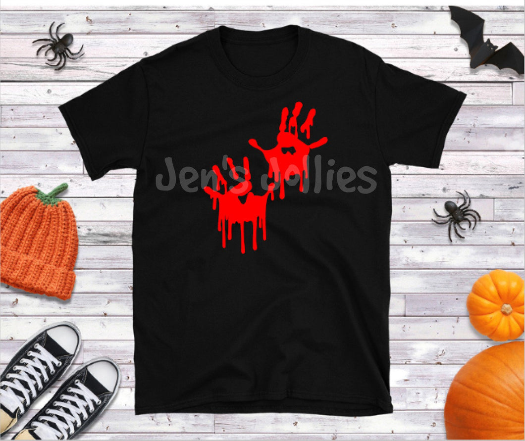 Bloody Hands Halloween Shirt
