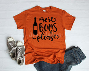 More Boos Please Unisex Tee