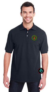 Christmas Carols Ring Unisex Polo