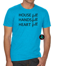 Load image into Gallery viewer, House Hands Heart Full Unisex Anvil Tri-Blend Tee