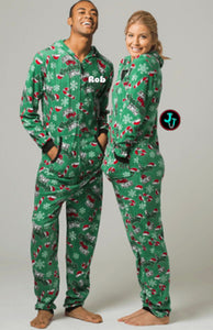 CLOSEOUT!!! Limited More Naughty Than Nice Boxercraft Unisex Union Suit Pajamas