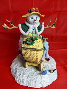 Snowman Family Collectible Figurine