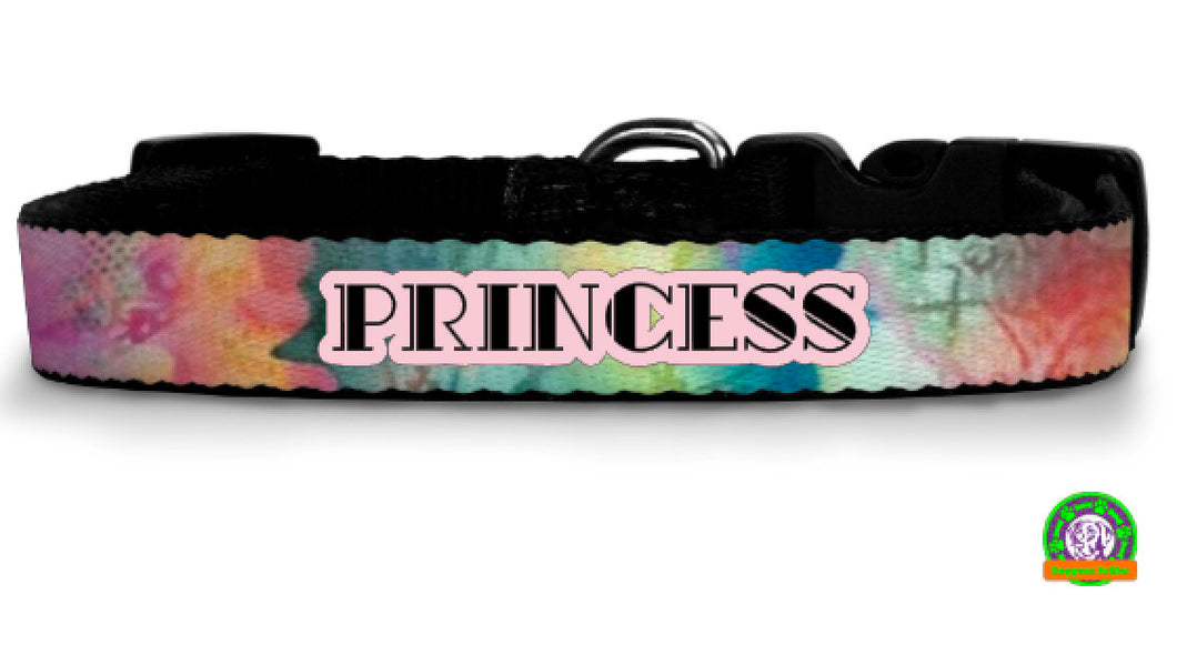 Bohemian Personalized Dog Collar