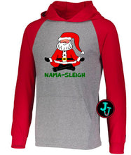 Load image into Gallery viewer, Nama-Sleigh Christmas Unisex Hoodie/Raglan/Shirt