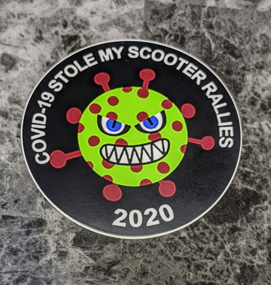 COVID-19 Stole My Scooter Rallies - Sticker