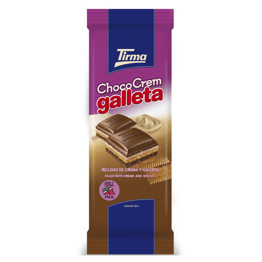 Tirma Cream Biscuit Chocolate Bar
