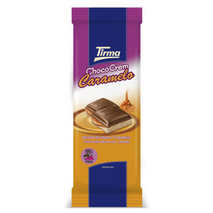 Tirma Chocolate with Cream and Caramel Bar