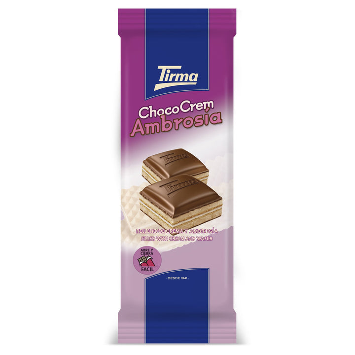Tirma Chocolate with Wafer and Cream Bar