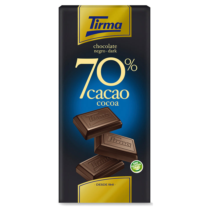 Tirma 70% Dark Chocolate Bar