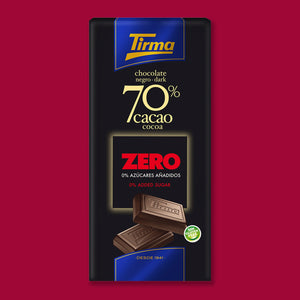 70% Dark Chocolate Bar - No Added Sugar