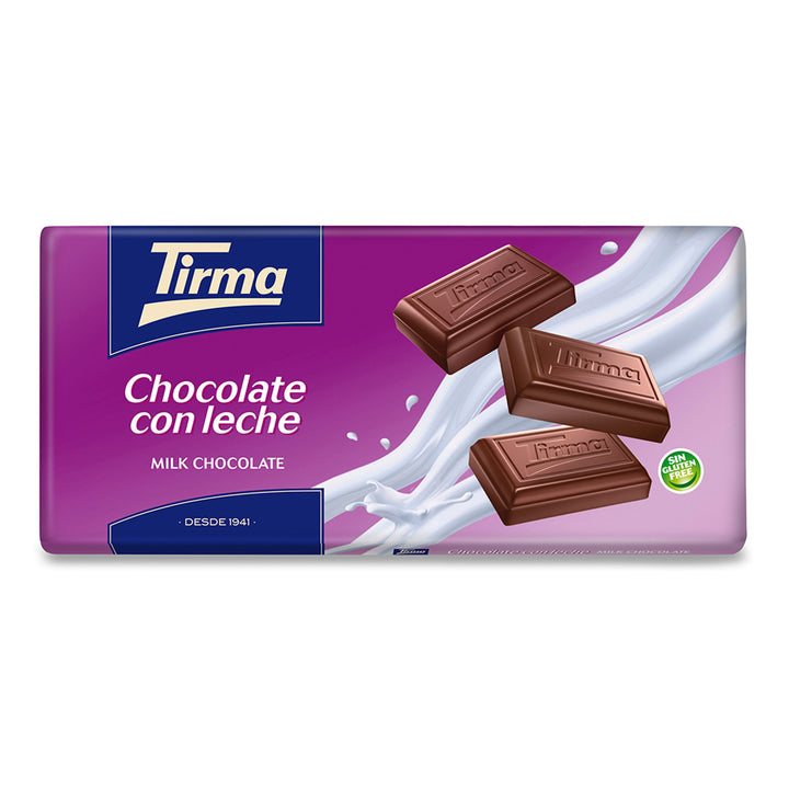 Tirma Milk Chocolate Bar - No added sugar