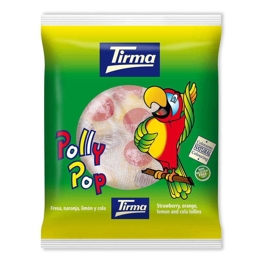 Tirma Polly Pop Flat Lollies