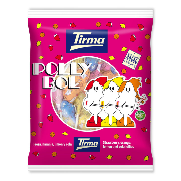 Tirma Polly Bol Round Lollies