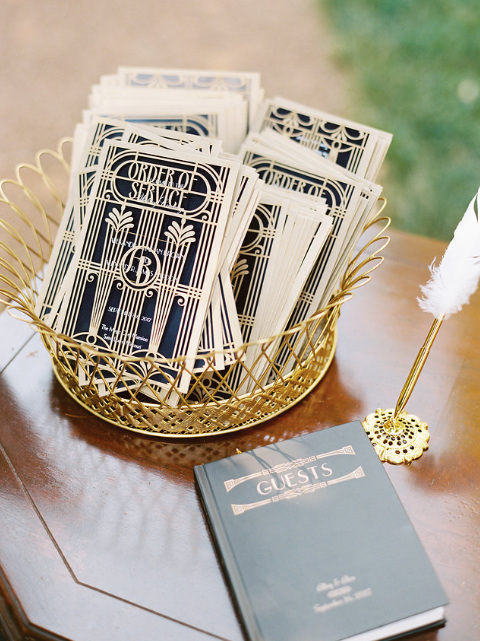 Roaring 20's 'Great Gatsby'- Wedding Sparrow Feature.
