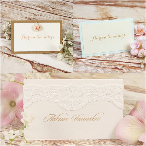 Place Cards from cartalia.co.uk