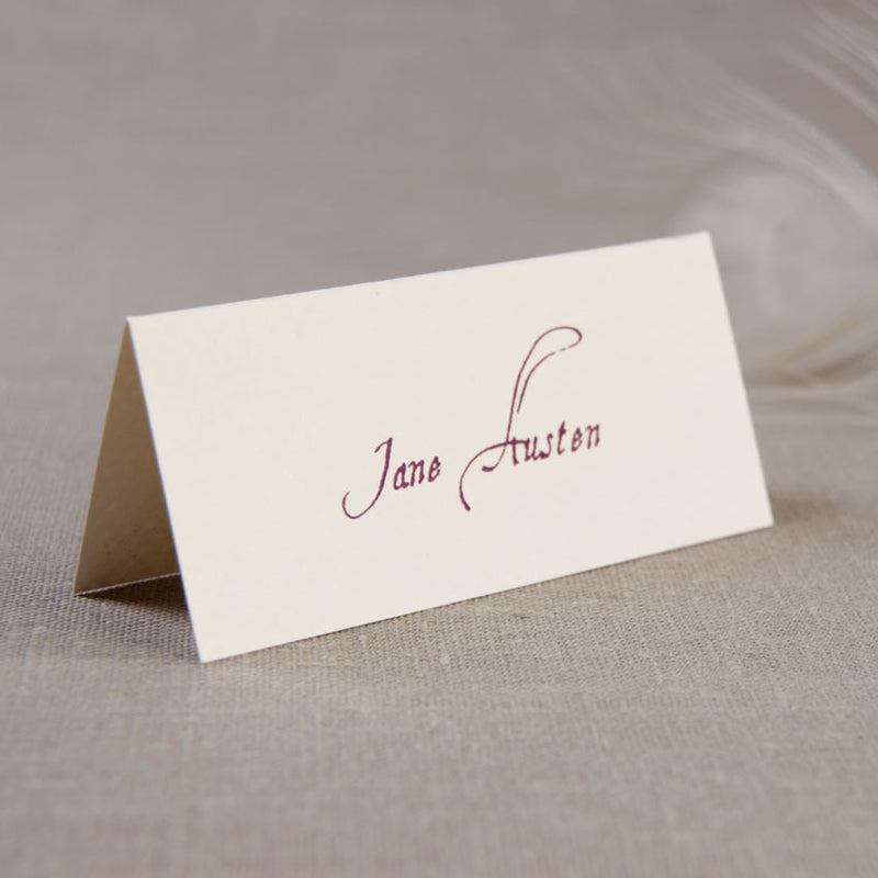 Royal Place Card