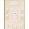 Individual Cream & Pink Table Plan