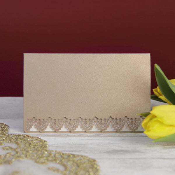 Golden Gate Lace Save the Date / Thank You / Reply Card