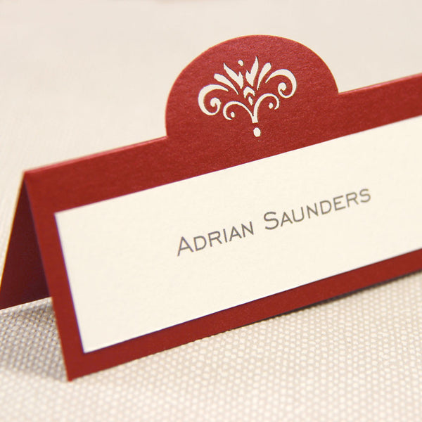 Intricate Lace Laser Cut Place Card
