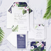 Tropical Botanical Watercolour Watercolour Place Card