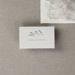 Marble Grey Watercolour Place Card