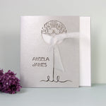 Bird Tree Laser-Cut Day Invitation