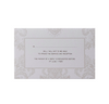 Pearl Damasque Save the Date / Reply / Thank You Card