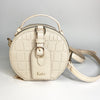 Ivory L O V E  : Personalised Monogram and Message Cross Shoulder Bag