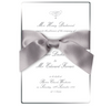 Silver Edge Wedding Day Invitation