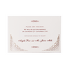 Cream Lace Save The Date / Thank You / Reply Card