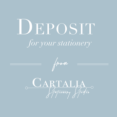 Deposit for Cartalia Order