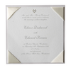 Satin Square Day Wedding Invitation