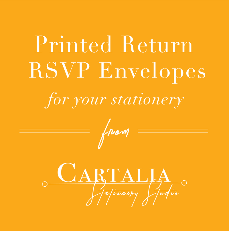 Add-on : RSVP Return Address Printing