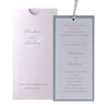 Silver Pocket Day Invitation