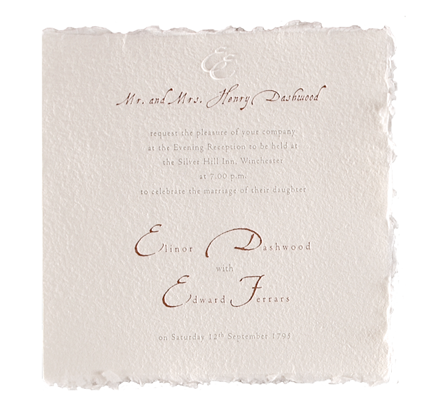 Royal Evening Wedding Invitation