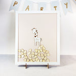 Adorable Baby Hippo |  Personalised Guest book Drop box