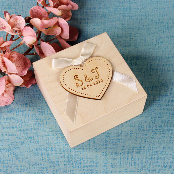 Wedding Ring Box design 2