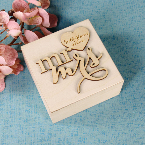 Wedding Ring Box design 3