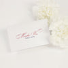 Glam Script Place Card