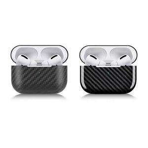 Carbon Fiber Protective Skin Case Cover Shell For Apple AirPod Pro.