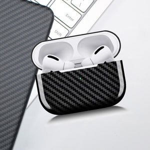 Apple Airpod Pro Carbon Fiber Protective Shell Case Cover.