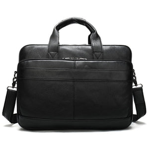 WESTAL Leather Briefcase.