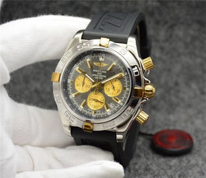 Breitling Luxury Brand Mechanical Quartz Wristwatch.