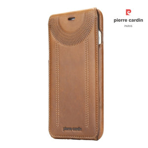 Pierre Cardin Genuine Leather Phone Cases For iPhone 7 and iPhone 8.